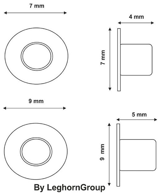 remaches metalicos para queserias diseno tecnico