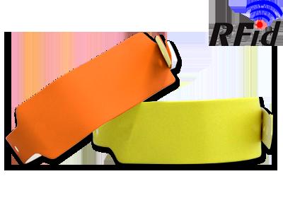 BRAZALETES RFID DE VINILO