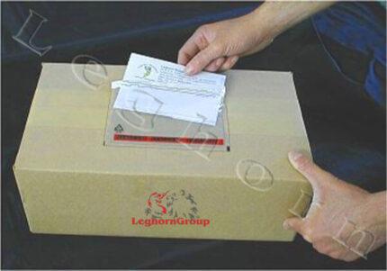 sobre adhesivo porta documentos packing list
