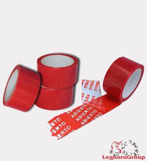 cintas adhesivas de seguridad