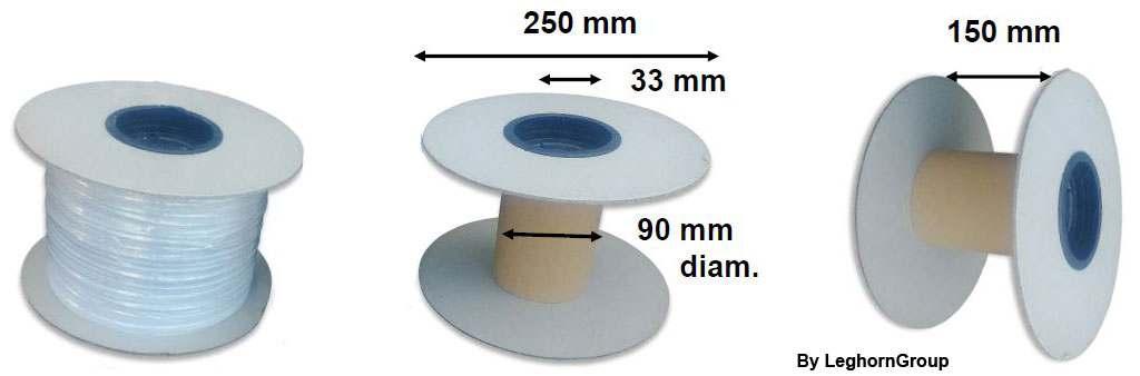 Alambre plastificado para mascarillas sanitarias bobina