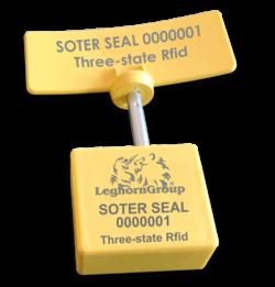 Precinto Tipo Clavo Rfid Uhf 3 Estados Soter Seal