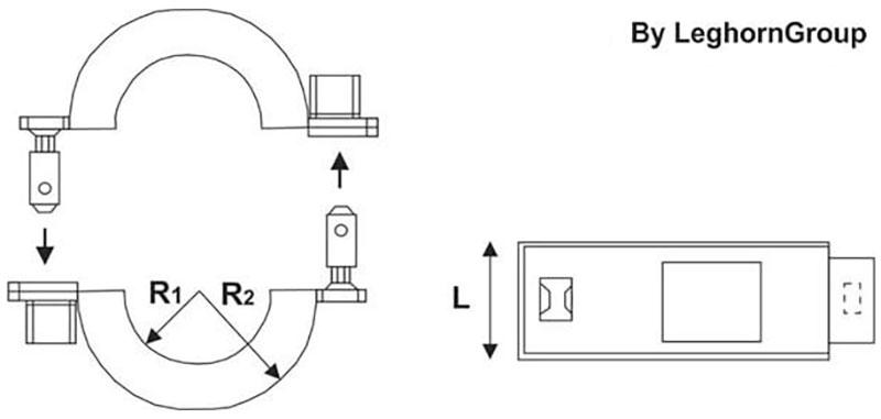 abrazadera antifraude connection lock rfid diseno tecnico