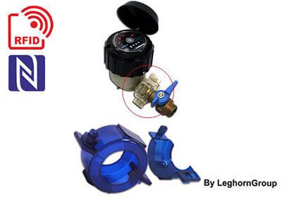 abrazadera connection lock rfid ejemplos de uso
