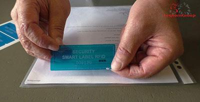 etichette void rfid senza residuo come si usa