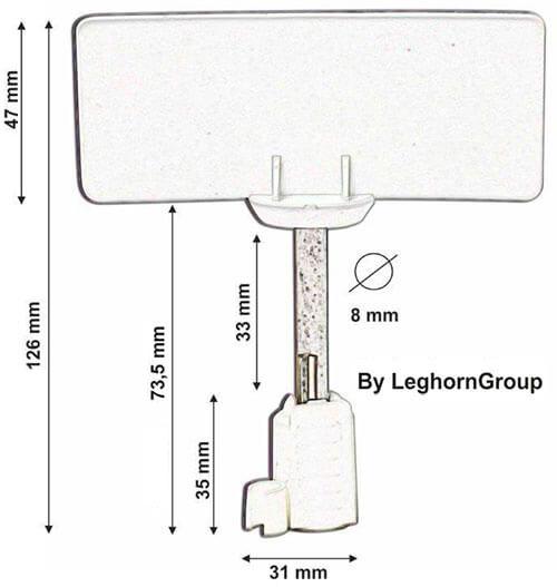 precinto barrera rfid para contenedores neptune seal diseno tecnico