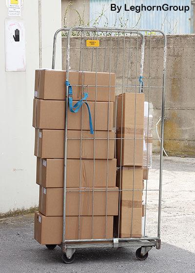 precinto cable rfid para roll container ejemplos de uso