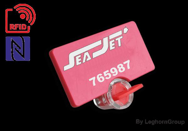Precinto De Cierre Rotativo TWIST SEAL RFID UHF