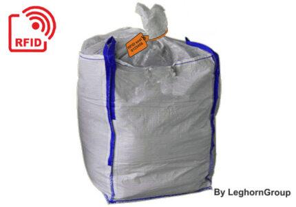 precinto plástico rfid para la gestión de big bag de lodo