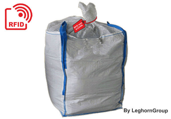 Precinto Plástico RFID Para Gestión De Big Bag De Lodo