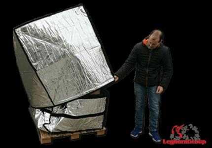 bolsa de protección en aluminio para paletas art td 005