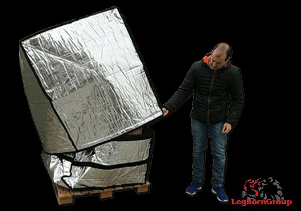 Bolsa De Protección En Aluminio Para Paletas Art: TD 005