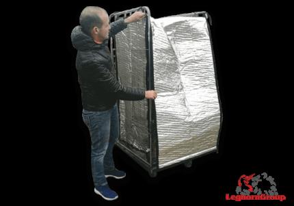 bolsa de protección térmica para roll container