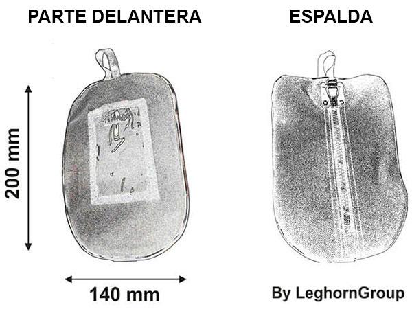 bolsa seguridad para llaves haarlem diseno tecnico