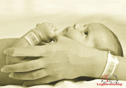 brazaletes identificativos madre bebé