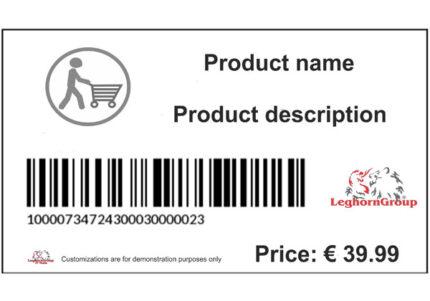 etiqueta logística