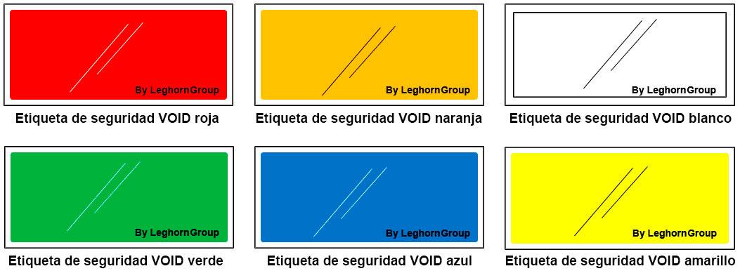 etiqueta seguridad para companias aereas aeropuertos colores