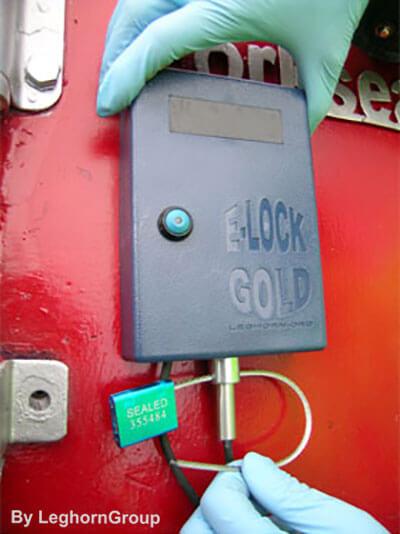 precinto electronico elock gold como usarlo
