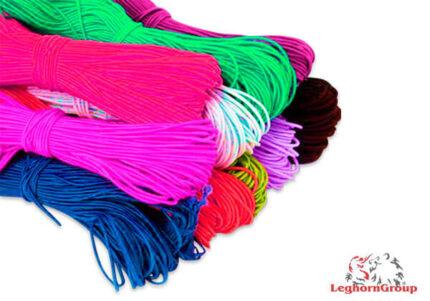 cordon elastico colorido para mascarillas